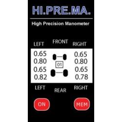 Manomètre kart digital HI.PRE.MA